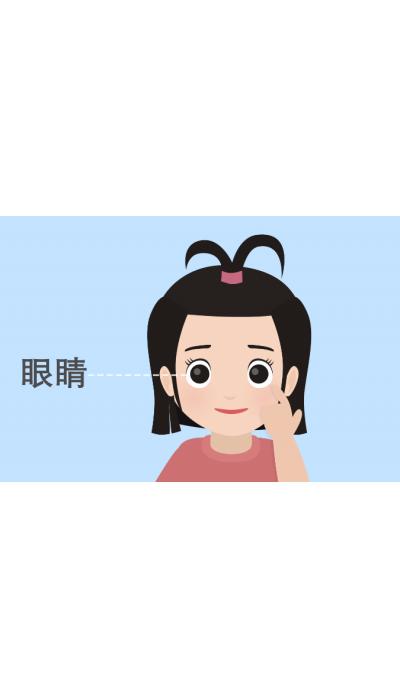 泰佳文化传媒——智通生活教学视频之认识五官